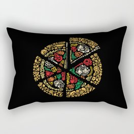 Pizza Pizza Rectangular Pillow