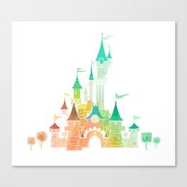 W Castle Canvas Print