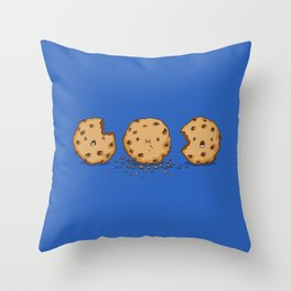 Cannibalism Throw Pillow