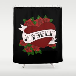 Self Valentine's Shower Curtain