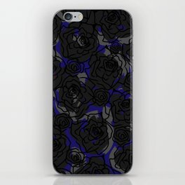 Black Roses iPhone Skin