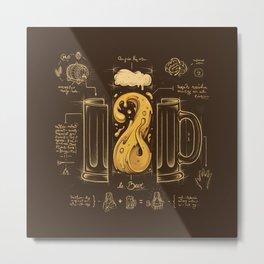 Le Beer (Elixir of Life) Metal Print