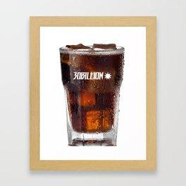 30Billion CP - Cool Coke Framed Art Print