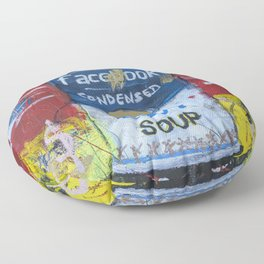 Envy Soup Preserves Floor Pillow