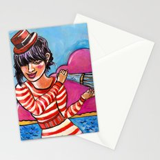 The Sound of Paradise Stationery Cards