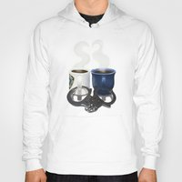 writer Hoodies featuring Writer and Detective  by Edite Kirse