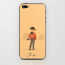 John Wayne - The Searchers iPhone Skin