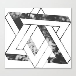 Impossible star Canvas Print