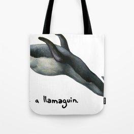 Llamaguin Tote Bag