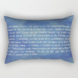 the 1° law colors Rectangular Pillow