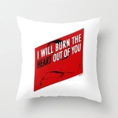 SHERLOCK Moriarty Print Throw Pillow