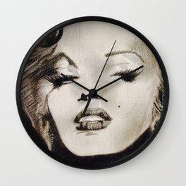 Oh Marilyn  Wall Clock