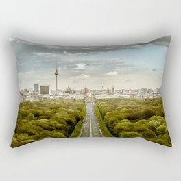 Berlin skyline Rectangular Pillow