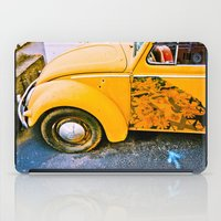volkswagon iPad Cases featuring vintage vw and door art by robertbuttery