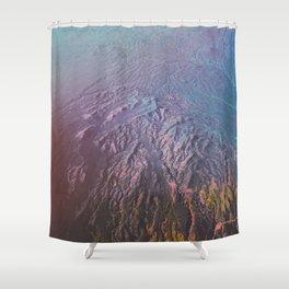 Veins Shower Curtain