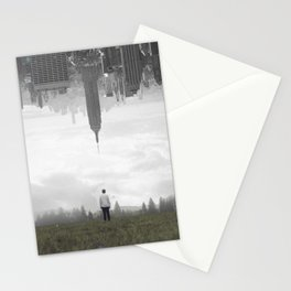 in my place Stationery Cards