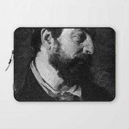 Peder Severin Krøyer - Portræt af den franske maler Alfred Guillou Laptop Sleeve