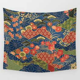 Japan Quilt Wall Tapestry
