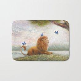 Friendly Lion by P.S. Brooks Bath Mat