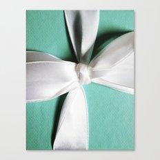 Tiff's Blue Box Canvas Print
