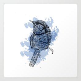 One Little Bird Art Print