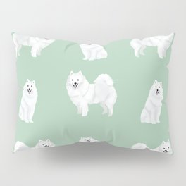 Japanese Spitz pure breed dog pattern pet gifts for dog lovers Pillow Sham