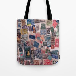 20th Century through stamps Tote Bag