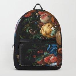 Dutch Floral Still life botanical print(digital download)PRINTABLE Art, botanical print, botanical Backpack