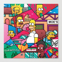 The Simpson Canvas Print