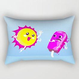 Sun Hug Ice Cream Scream Rectangular Pillow