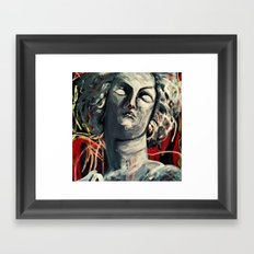 Marble Thoughts Framed Art Print