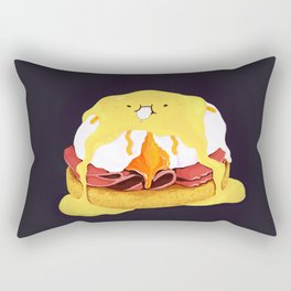 Egg Benedict Rectangular Pillow