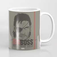 metal gear solid Mugs featuring Metal Gear Solid V: Ground Zeroes by Akyanyme