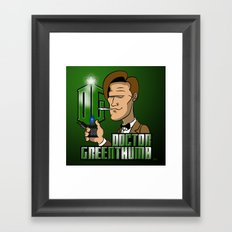 Doctor Greenthumb Framed Art Print
