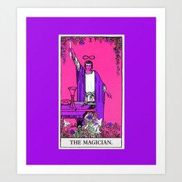 1. The Magician- Neon Dreams Tarot Art Print