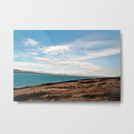 Rainbow over Lake Pukaki Metal Print
