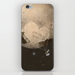 Love the Pluto iPhone Skin