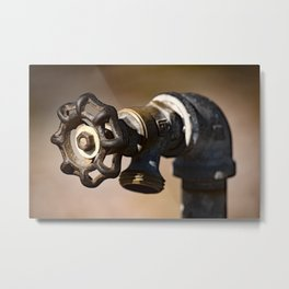 To The Right Metal Print