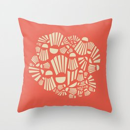 Badminton Throw Pillow