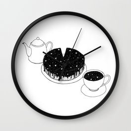 space cake Wall Clock