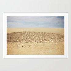 Dramatic Sand Dunes 2 Art Print