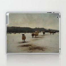 Winter Sheep Laptop & iPad Skin