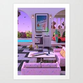 California Dreamin' Art Print