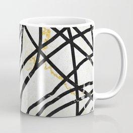Abstract Mess - minimal, marbled, simple, modern design Coffee Mug