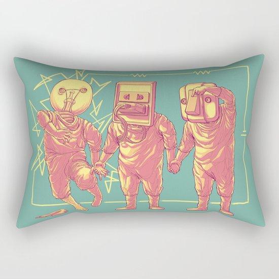 Experimental Idea Rectangular Pillow