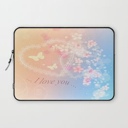 ... i love you ... Laptop Sleeve