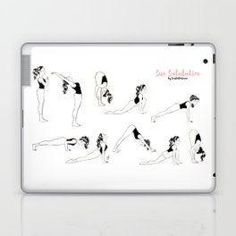 Sun Salutation - Surya Namaskar Laptop & iPad Skin