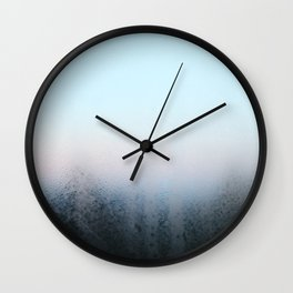 Misty Panes Wall Clock