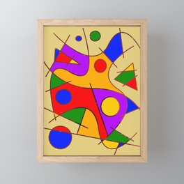Abstract #206 Framed Mini Art Print