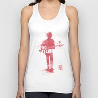 bob dylan Tank Tops featuring Bob Dylan by Never Looking Back